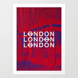 London slap up Art Print