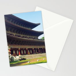 Buddhist temple Stationery Cards