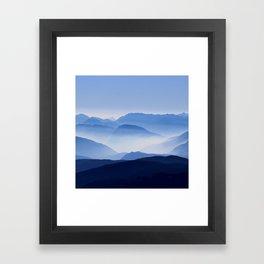 Mountain Shades Framed Art Print