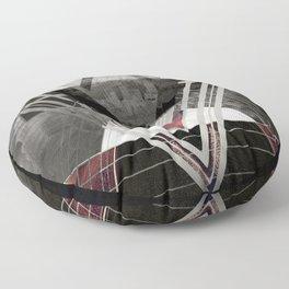 Circle Of Illumination Floor Pillow