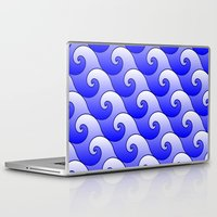 surf Laptop & iPad Skins featuring Surf by Warwick Wonder Works