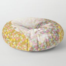 Thoughts dot pattern  Floor Pillow