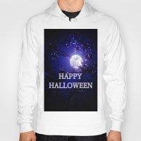 halloween Hoodies featuring HALLOWEEN by WhimsyRomance&Fun