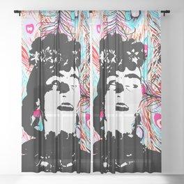 My lovely Freeda Frida Kahlo Sheer Curtain
