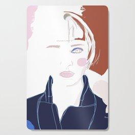 Quiet beauty Cutting Board