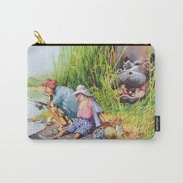 hippo! Carry-All Pouch