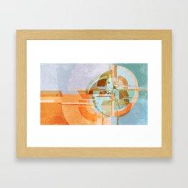 Modern boom Framed Art Print
