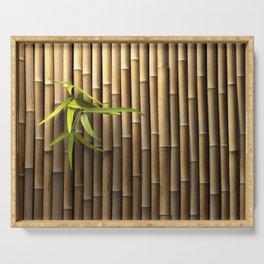 Bamboo Wall Serving Tray