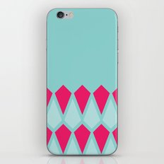 Blue Diamonds iPhone & iPod Skin
