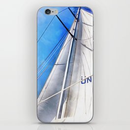 Keep The Wind In Your Sails iPhone Skin