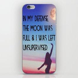 Moon Magic iPhone Skin
