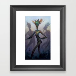 Twisted Wisp Eaters Framed Art Print
