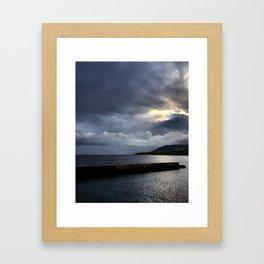 Helmsdale harbor Framed Art Print