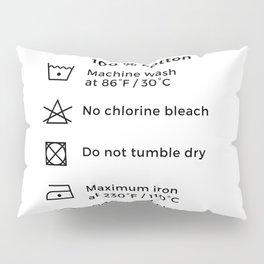 100% Cotton | Laundry Label Pillow Sham