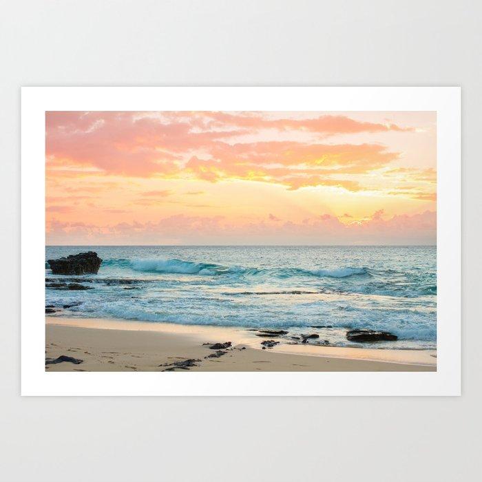 Honolulu Sunrise Kunstdrucke