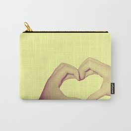 Heart Hand Carry-All Pouch