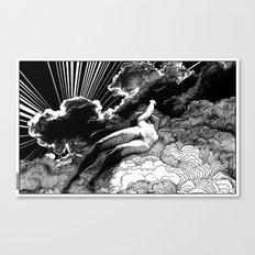 asc 615 - La volupté des formes (The voluptuousness of painting) Canvas Print