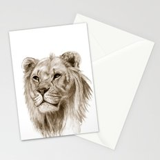 A Lion :: Without Pride Stationery Cards