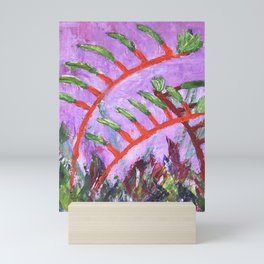 Rustic Kangaroo Paw Mini Art Print