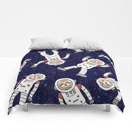 Astro Sloth Comforters