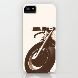 Vintage Motorcycle iPhone Case