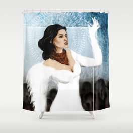 Dragon Age 2 - Bethany Hawke - Purity Shower Curtain