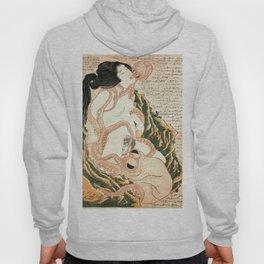 Katsushika Hokusai's Dream of the Fisherman's Wife. Hoody