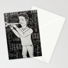 Música Stationery Cards