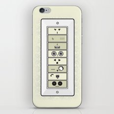 Mysterious Plugs iPhone & iPod Skin