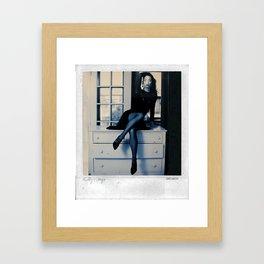 Kathy's Legs Framed Art Print