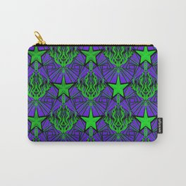 Starfire Kaleidoscope (Acid Comet) Carry-All Pouch
