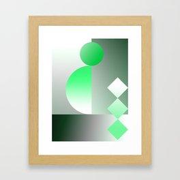 Basic Architectural Framed Art Print