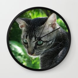 "Vermeer CAT ""Girl with a Pearl Earring"" Wall Clock"