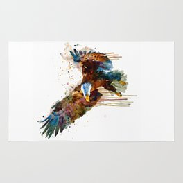 Free and Deadly Eagle Rug