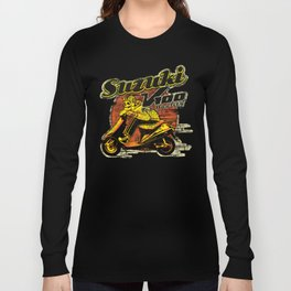 Suzuki V100 Skull Ride Long Sleeve T-shirt