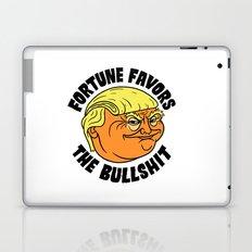 Fortune Favors the Bullshit Laptop & iPad Skin