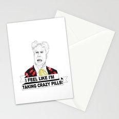 Crazy pills Stationery Cards