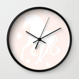Petite Unicorn Wall Clock