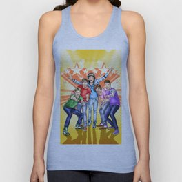 One Direction FAME comic book cover Unisex Tank Top
