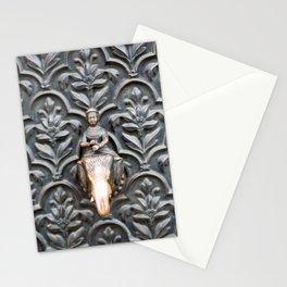 Elephant rider Stationery Cards