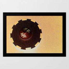 Tajine Invader Art Print