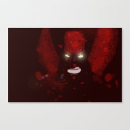 The Bloodhawk Stalks The Night Canvas Print