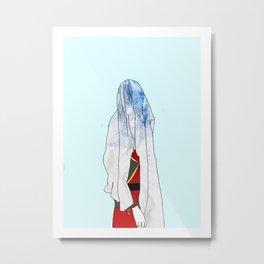 Blue Blood Metal Print