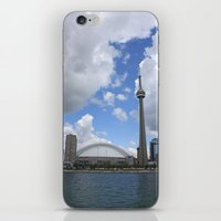 toronto iPhone & iPod Skins featuring Toronto by Rose&BumbleBee