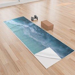 Turquoise Sea Yoga Towel