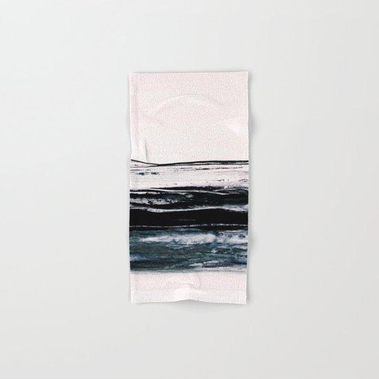 abstract minimalist landscape 9 Hand & Bath Towel