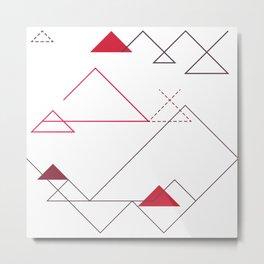 Tree-Angle Metal Print