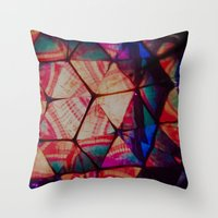 prism Throw Pillows featuring Prism by Lotus Effects