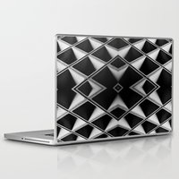 grid Laptop & iPad Skins featuring Grid by blurdvizionz
