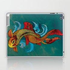 A tale of two fins. Laptop & iPad Skin